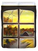 Broken Window Dreamy Mirage Duvet Cover