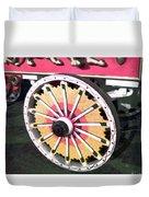 Circus Wagon Wheel Duvet Cover