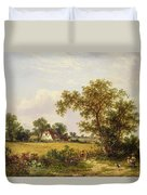 Essex Landscape  Duvet Cover