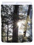 Forest Sunrise Duvet Cover