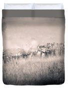Gettysburg Confederate Infantry 9112s Duvet Cover