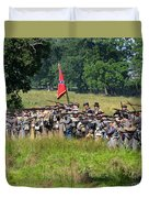 Gettysburg Confederate Infantry 9270c Duvet Cover