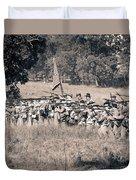 Gettysburg Confederate Infantry 9270s Duvet Cover