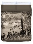 Gettysburg Union Artillery And Infantry 7457s Duvet Cover