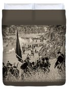 Gettysburg Union Artillery And Infantry 7459s Duvet Cover