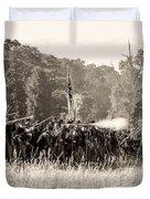 Gettysburg Union Infantry 9372s Duvet Cover