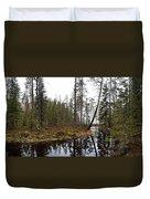 Haukkajoki Panorama 2 Duvet Cover