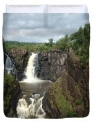 High Falls Grand Portage Mn Duvet Cover