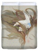 I Can Fly In My Dreams Duvet Cover