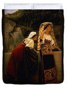 Italian Women From Abruzzo  Duvet Cover
