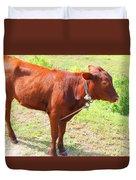 Jamaican Cow Duvet Cover