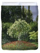 Jeanne Marie Lecadre In The Garden Duvet Cover
