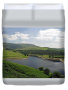 Kinder Reservoir From White Brow Duvet Cover