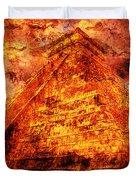 C H I C H E N  .  I T Z A .  Pyramid Duvet Cover