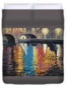 Light On The Water Duvet Cover