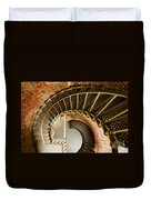 Lighthouse Stairs Cape Blanco Oregon 1 Duvet Cover