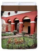 Lima Peru Garden Duvet Cover