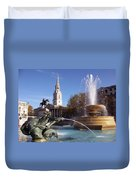 London - Trafalgar Square  Duvet Cover