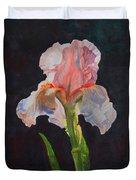 Majestic Iris Duvet Cover