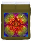 Mandala For Awakening The Creative Energy Duvet Cover