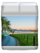 May Morning In The Cove Duvet Cover