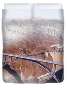 Mike O'callaghan Pat Tillman Memorial Bridge Duvet Cover
