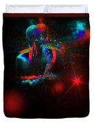 Kenny Garrett 5tet, Music Instrument Trumpet Sax Trombon  Duvet Cover