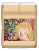Nude Fantasy Duvet Cover by Natalie Holland