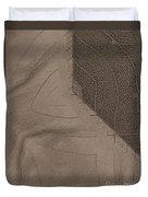 Oak Leaf Abstract Duvet Cover