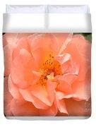 Peachy Perfection Duvet Cover