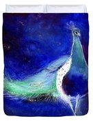 Peacock Blue Duvet Cover