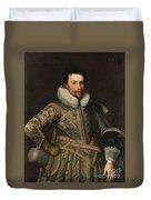 Portrait Of A Nobleman Duvet Cover