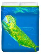 Prized Dolphin Painting Duvet Cover