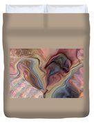 Psychedelic Heart Duvet Cover