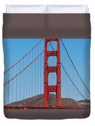 San Fransisco Bay Bridge Duvet Cover