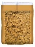 Sand Map Duvet Cover