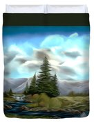 Serpentine Creek Dreamy Mirage Duvet Cover