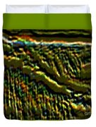 South Rim- N -green Grandeur Duvet Cover