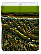 South Rim- N -green Grandeur Duvet Cover