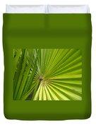 Spiny Fiber Palm Duvet Cover