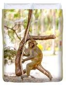 Swinging Monkey Duvet Cover
