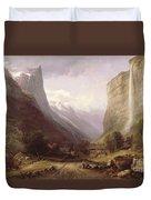 Swiss Scene Duvet Cover by Samuel Jackson