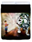 The Boy And The Lion 2 Duvet Cover