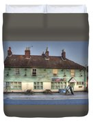 The Bricklayers Arms New Hythe Duvet Cover