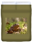 The Common Toad 3 Duvet Cover