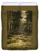 The Forest Brook Duvet Cover