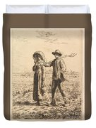 The Peasant Family Duvet Cover