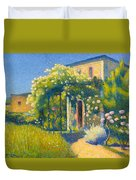 The Studio At Alet-les-bains Duvet Cover
