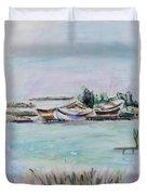 Venice Lagoon Duvet Cover