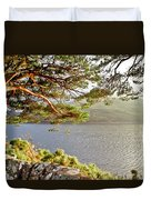 Warmth  Of The Pine Branch. Duvet Cover